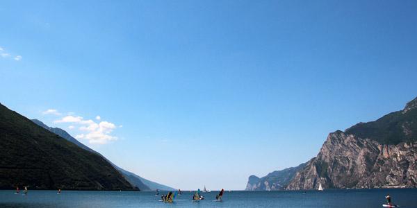 Das Städtchen Campione del Garda